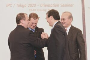 ブラジル出身のアンドリュー・パーソンズIPC副会長(2020東京調整委員会委員)