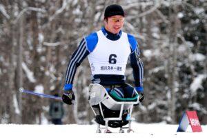 陸上チャンピオンの雪上の楽しみ