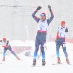 Men's Standing Sprint Final ロシア・MIKHAYKIV選手の勝利の瞬間(RYO ICHIKAWA/studioAFTERMODE)