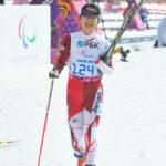 最後は笑顔で会場を去る太田渉子Woman's 6km standingに参加した(撮影z:ICHIKAWA RYO/StudioAFTERMODE)