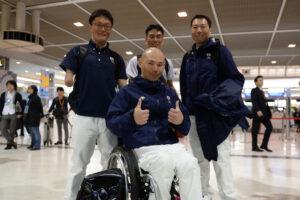 日本選手団最終陣営、ソチへ向けて出発!