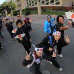 日本選手団の行進