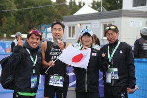 パラオープンを終えた日本パラトライアスロンチーム