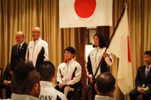 2014仁川アジアパラ競技大会結団式