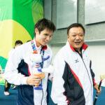 木村敬一と寺西コーチ