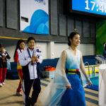 水上真衣(20歳・東京都) 女子100M平泳ぎSB8