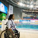 鈴木孝幸(27歳・ゴールドウィン)男子100M自由形S5で銀メダル