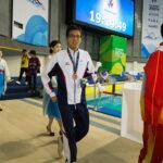 小山恭輔(26歳・コロプラスト)男子50M自由形S6で銅メダル