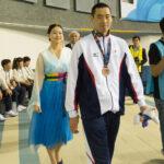 津川拓也(22歳・大阪市)男子100M背泳ぎS14で銅メダル