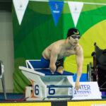 鈴木孝幸、男子50M平泳ぎS5のスタート