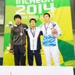 男子100MバタフライS12表彰式