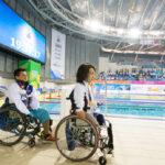男子50M平泳ぎS5表彰式