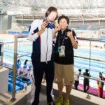 池愛里と峰村史世コーチ