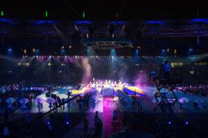 2014仁川アジアパラ競技大会・閉会式 写真・越智貴雄