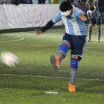 第2PKを蹴るアルゼンチン選手