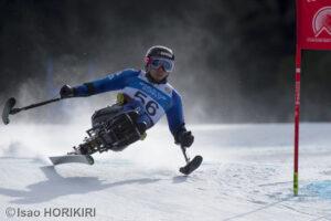 ソチパラリンピック・スーパーG金メダリスト狩野亮の滑り