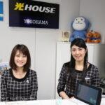 パラトラトーク会場NTT光HOUSE横浜の受付をした人たち