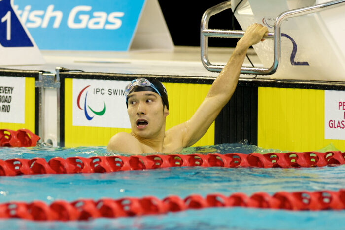 DAY-1:IPC水泳 田中康大が100メートル平泳ぎで2位。初日の日本に銀メダルが輝いた!