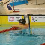 7月16日、女子50メートル自由形S9を泳ぎ終えた一ノ瀬メイ