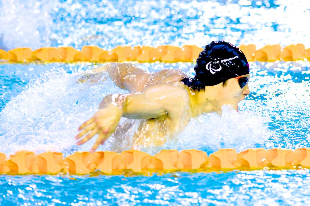 木村敬一、100メートルバタフライS11決勝