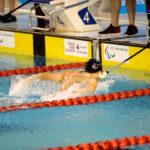 木村敬一、100メートルバタフライS11決勝のフィニッシュ