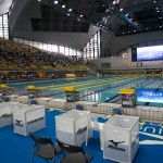 IPC公認2015ジャパンパラ水泳競技大会は、2020年東京パラリンピック開催に向けて会場を大阪なみはやドームから東京辰巳国際水泳場へ移して行われた。 撮影 西川隼矢