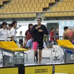 女子400メートル自由形S10に出場した池愛里(左足首まひ・東京都)