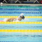 9月5日、女子400メートル自由形S8を泳ぐ鎌田美希(両下腿欠損・大阪シーホース)。予選・決勝ともに自己のアジア記録を更新した。