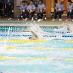 男子50メートル自由形S7、江島大佑(左片麻痺・シグマクシス)の泳ぎ