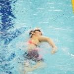 小野智華子(全盲・東京4TC)の泳ぎ。400メートル自由形、決勝