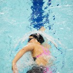 池愛里(左足首まひ)の泳ぎ。400メートル自由形、決勝