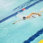 女子400メートル自由形、決勝