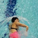 岡部歩乃佳(左腕欠損・伊予かんえい会)200メートル個人メドレーSM9の泳ぎ