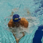 津川拓也(知的障害・ANAウィングフェロー)200メートル個人メドレーSM14の泳ぎ
