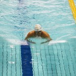 木村潤平(関節拘縮症・NTT東日本)100メートル平泳ぎSB6決勝