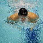 田中康大(知的障害・千葉市)100メートル平泳ぎ、決勝