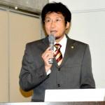 応援団の活動をコーディネートした泉谷昌洋さん