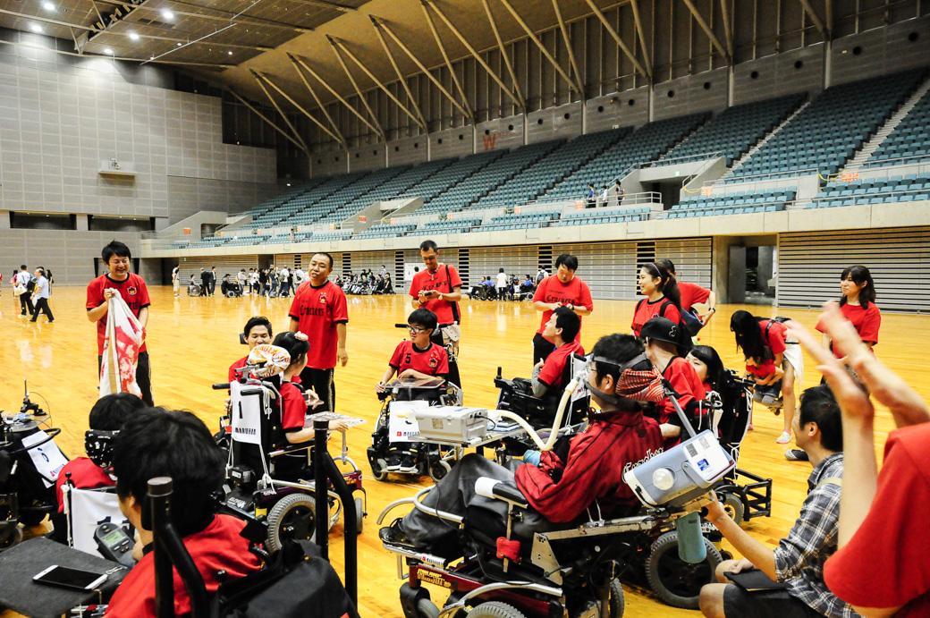 電動車椅子サッカー2015全国大会を終えて 〜映画撮影の現場から〜