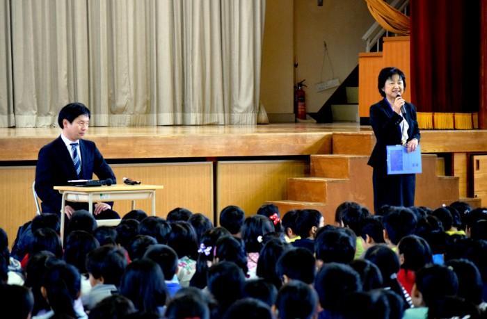 障害・パラリンピック・将来へ夢をかなえるために。河合純一が横浜の北山田小学校を訪問