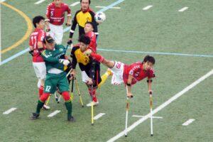 ファンの視点から考える。第5回・日本アンプティサッカー選手権大会、使えるすべてをむき出しにして戦う競技!
