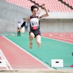男子走幅跳・T47 安井宏幸 (姫路市陸協)5m97(+1.2)