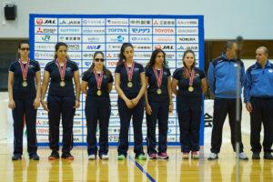 ジャパンパラで優勝したイスラエルのチーム 写真・山下元気