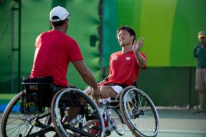 車いすテニス:ダブルス、国枝・斎田ペアが快勝!