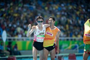 陸上:1500Mで和田伸也、日本新で決勝進出!