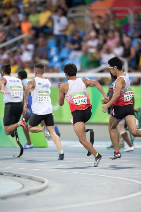 スムーズなタッチが今回の勝因の一つとなった 写真・三浦宏之