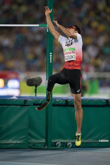 鈴木は惜しくもメダルを逃した 写真・三浦宏之