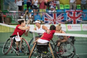 車いすテニス:女子ダブルスは4位でリオを終える