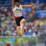 ブラジル選手への大声援に悩まされながらも最後は最高のジャンプで締めくくった。 写真・三浦宏之