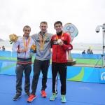 2016 リオパラリンピック 3日目トライアスロン男子の写真