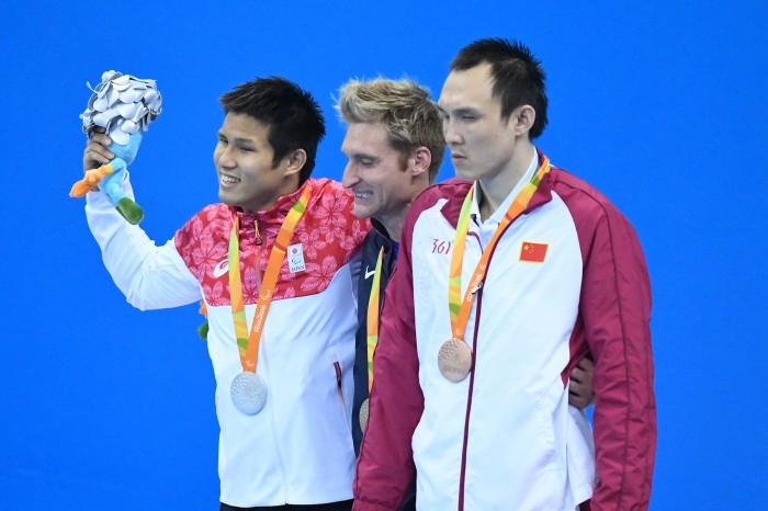 競泳:木村が50M自由形で自己ベスト銀メダル!